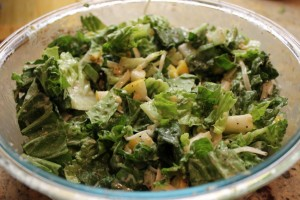 Pear and Swiss Salad